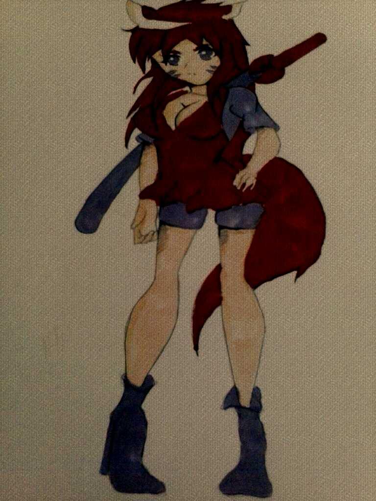 KAGUYA RED WOLF SUMMER VER. DARK COLOR by tifa005111