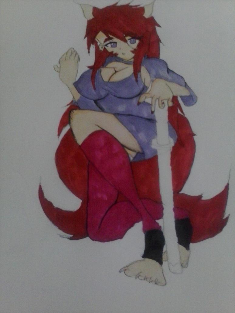 KAZUYA RED WOLF by tifa005111