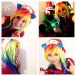 RainbowDash Christmas by MarmeladePro