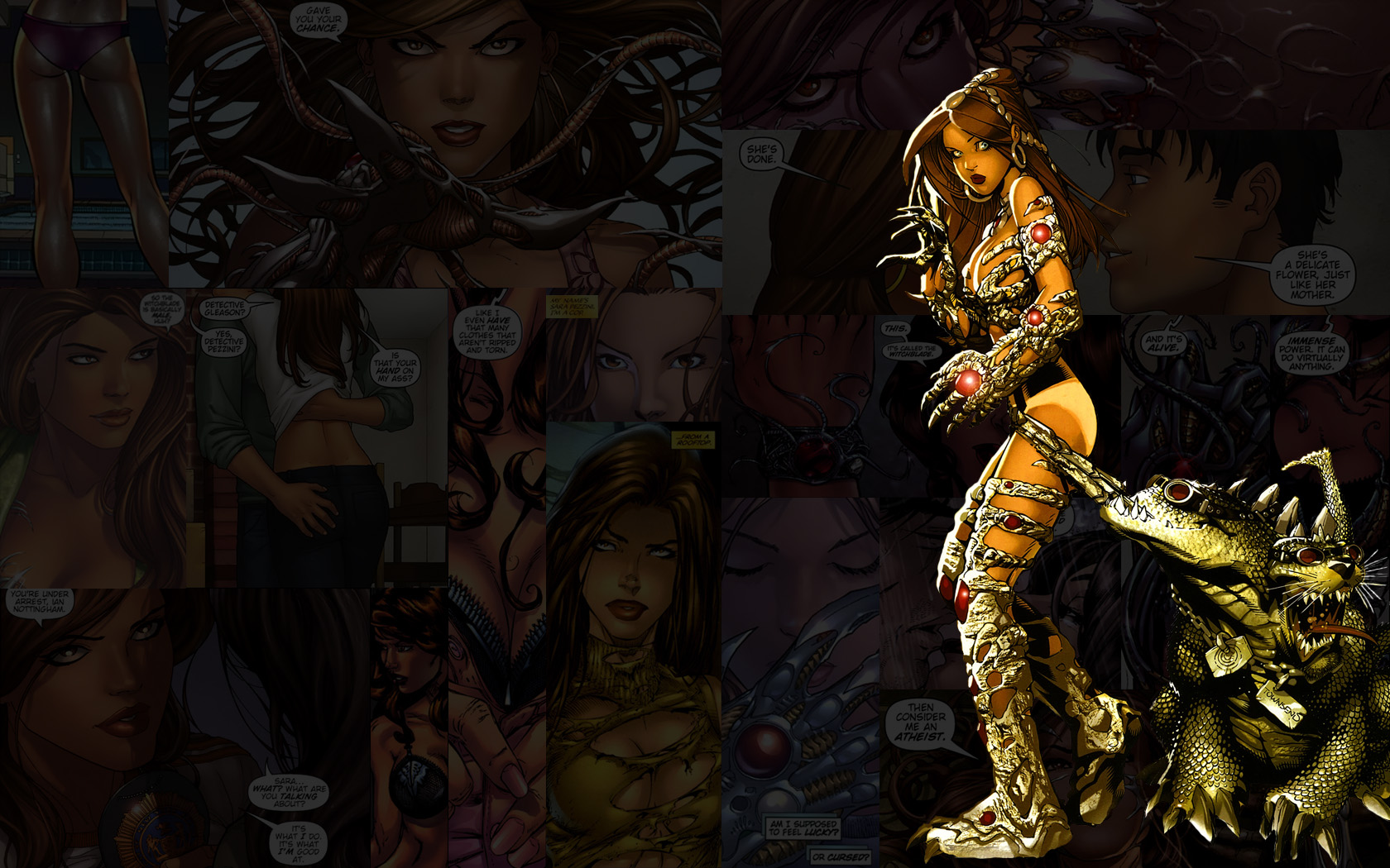 Witchblade.Oops by Troilus on deviantART