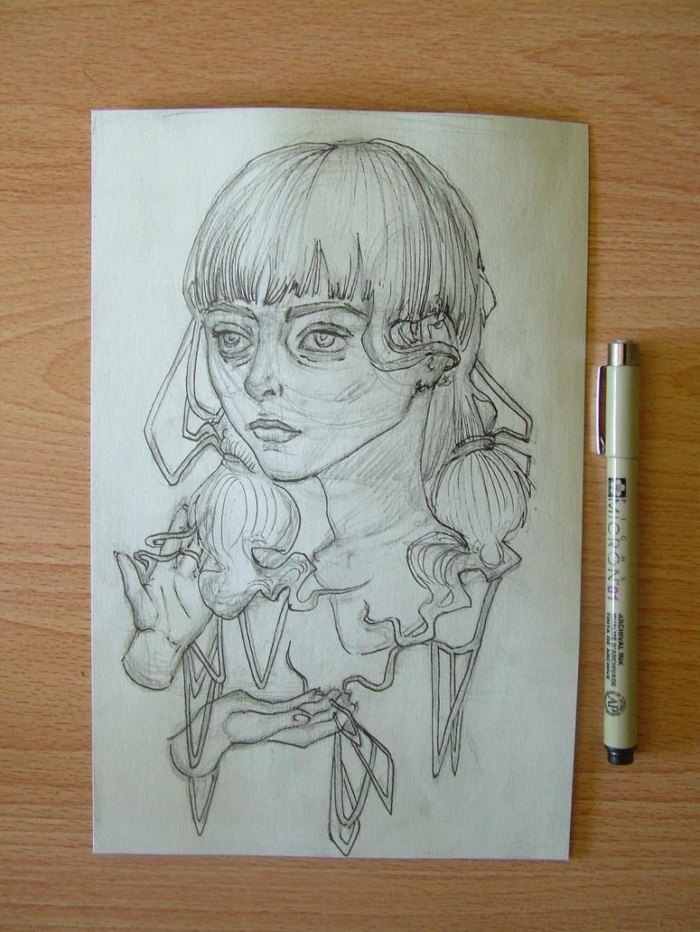 Morning sketch by Corey-Hebert