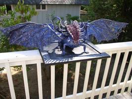 Dark Souls Gaping Dragon sculpture by futantshadow