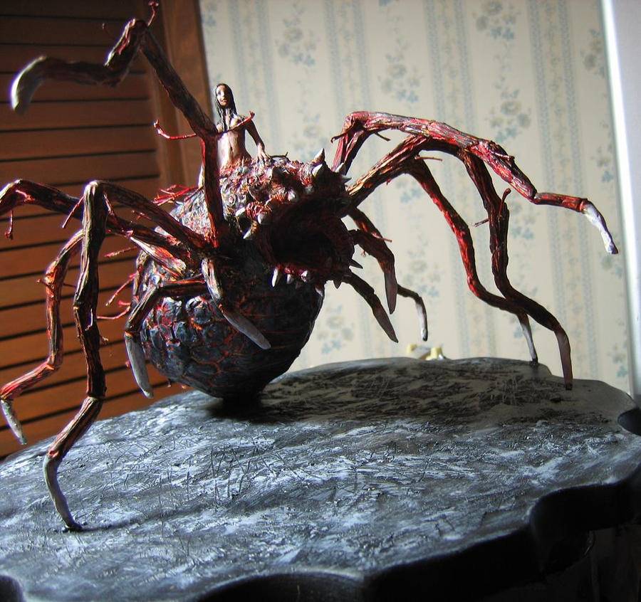 Dark Souls Chaos Witch Quelaag new statue by futantshadow