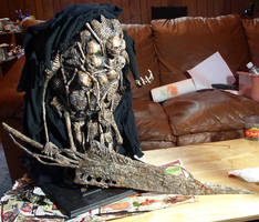 Dark Souls Gravelord Nito sculpture view 2 by futantshadow