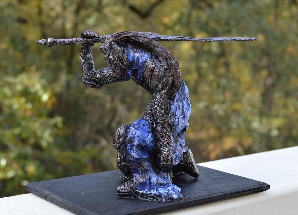 Dark Souls Artorias 8 inch statue by futantshadow