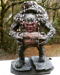 Witcher 3 statue Shupe