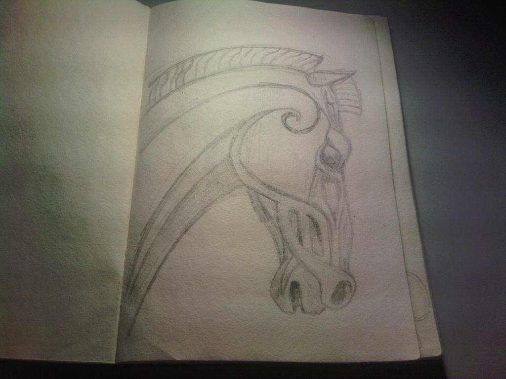 Lotr rohan horse design by brian haggis88 on deviantart for Rohan design
