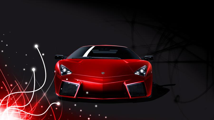 Red Lamborghini Wallpaper By RicoRazer93