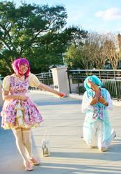 Little Twin Stars Lolita Outfits by michishigemasumi