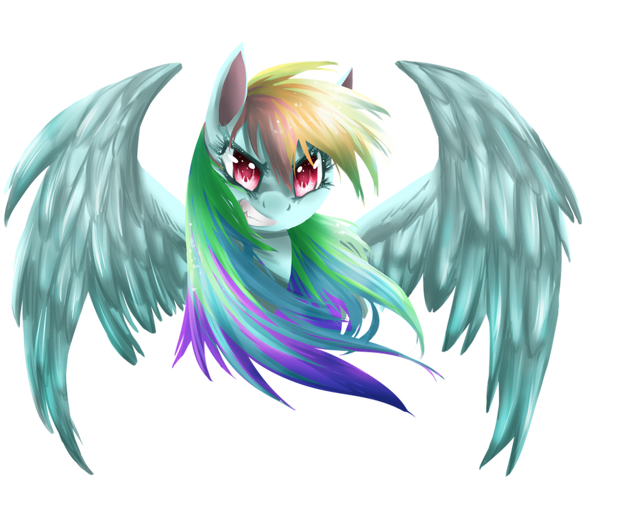 Rainbow Dash: My Little Pony by dreampaw