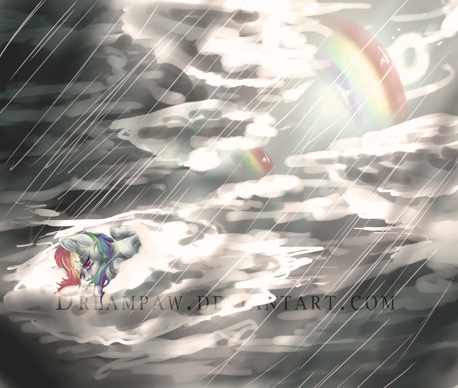 Even rainbows have rainy days by dream--chan