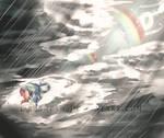 Even rainbows have rainy days
