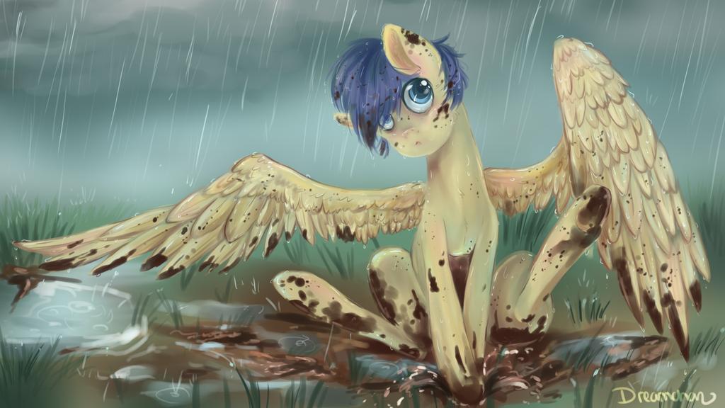 Muddy Pony is cute :3 by dreampaw