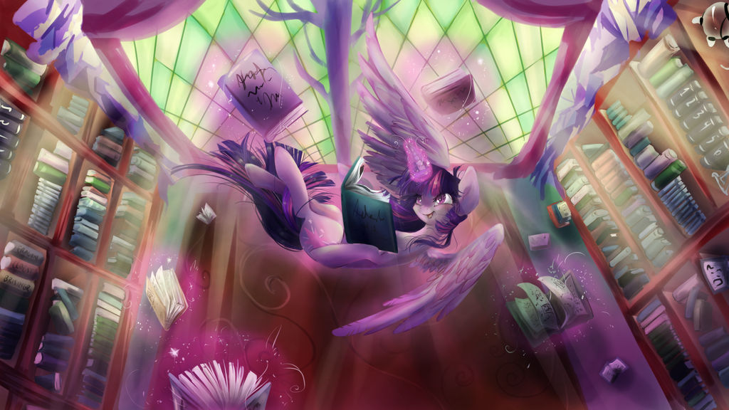 Twilight loves BOOKS by dream--chan