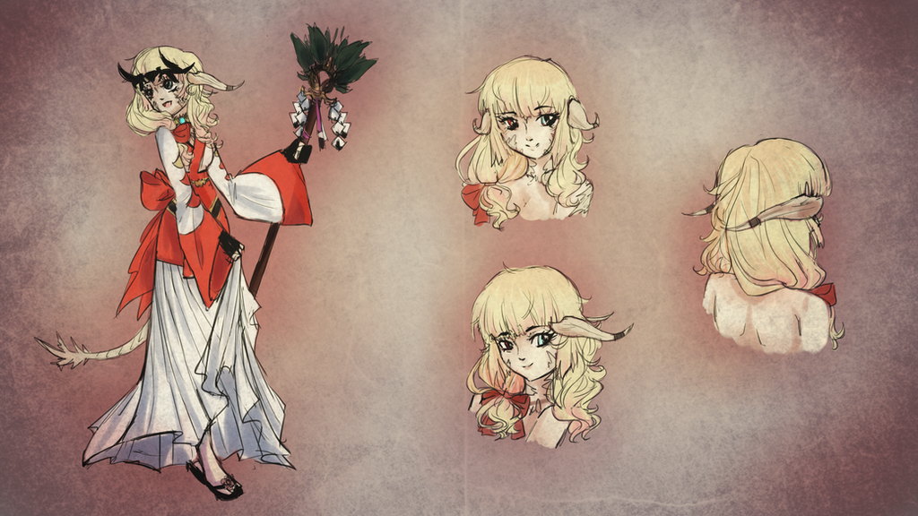 Hair Design Contest Ffxiv By Dream Chan On Deviantart