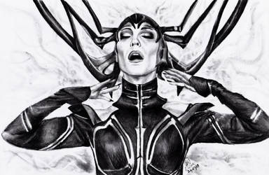 Hela the goddess of Death