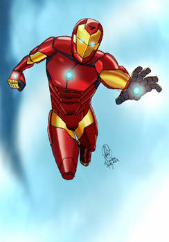 Iron Man mark 51 suit