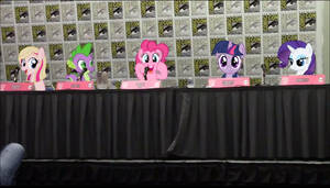 My Little Human Panel - San Diego Comic Con