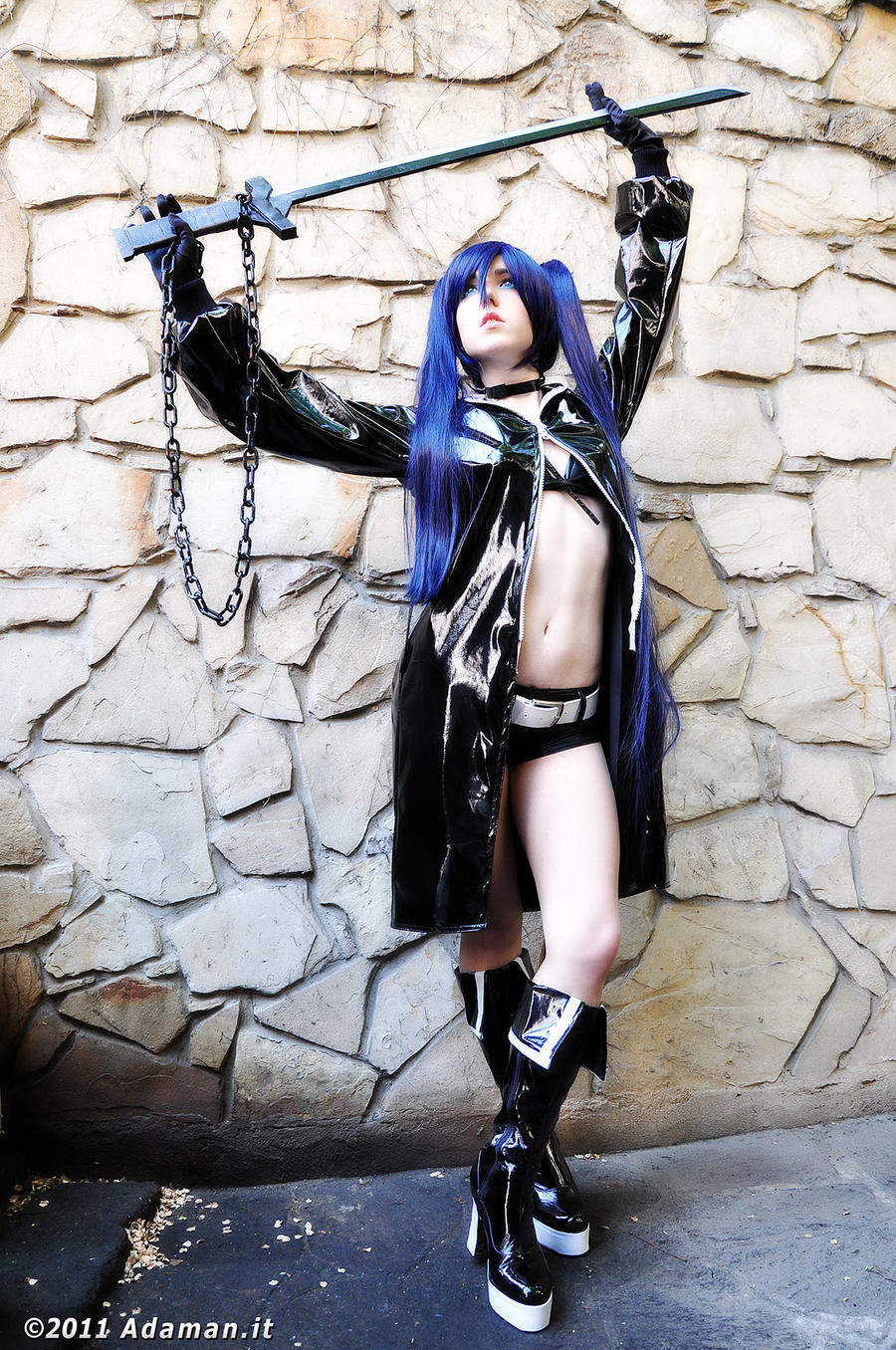 Black Rock Shooter by adaman77