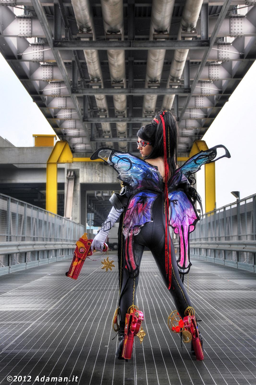 Bayonetta Butterfly by adaman77