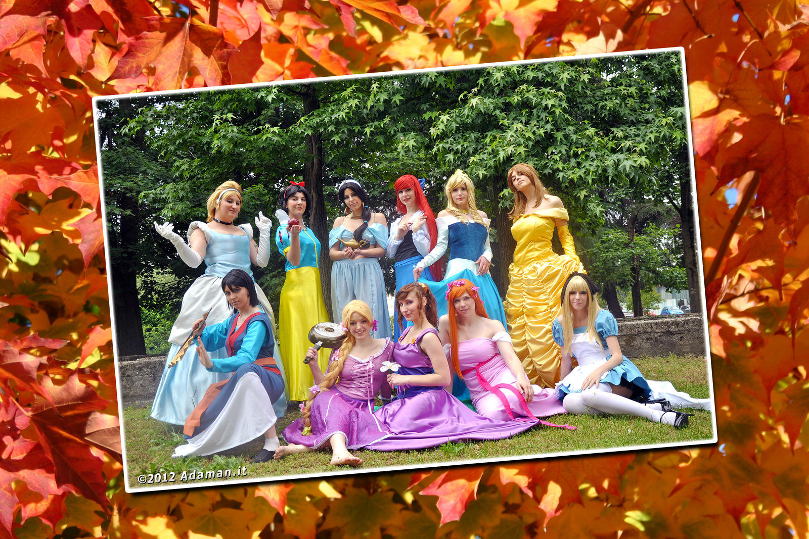 Princess, oh my princesses! by adaman77