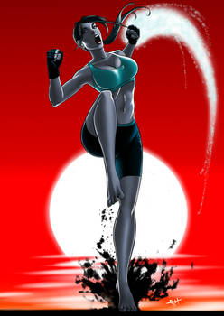 Wii Fit Trainer - Feel the Burn over 9000