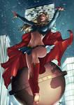 Supergirl - Night Flight by eHillustrations