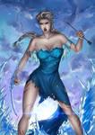 Frozen - Queen Elsa (Berserker version)
