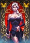 Halloween 2016 - Queen Elsa (Vampire version)