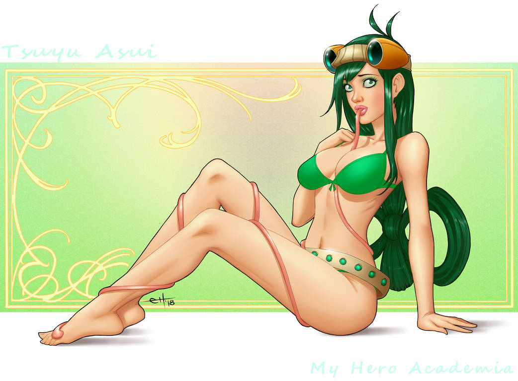 My Hero Academia - Tsuyu Asui SFW by eHillustrations