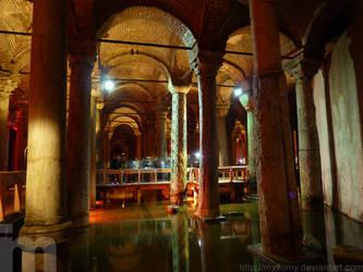 Basilica Cistern - Istanbul by myxomy