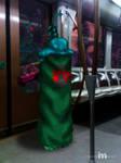 Marathon Enforcer in Brussels metro by myxomy