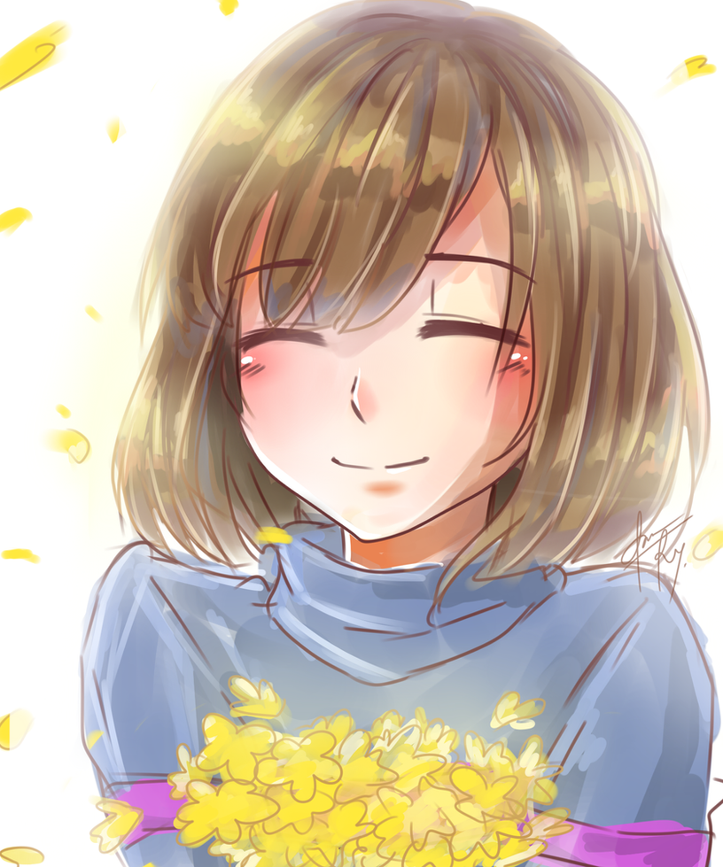 Frisk-Undertale by reese-yamawe