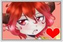 [MaanieART] Kazuhiro Fan Stamp by maaniebananie