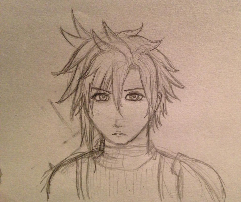Just a sketch by CloudoboStrife