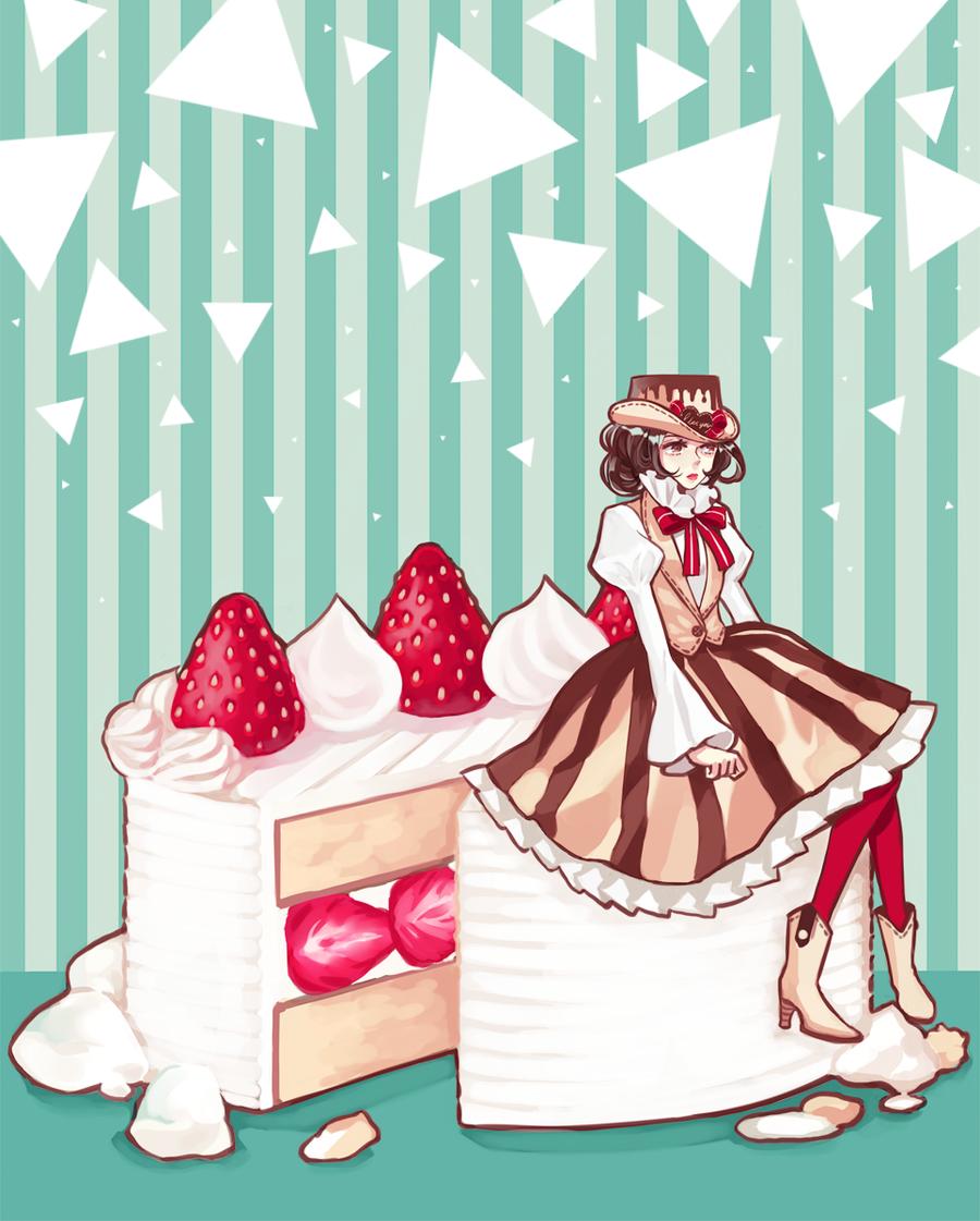 Strawberry Shortcake by mintymo
