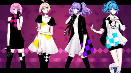 VocaFX: Minty Little Sky Girls - Dependence Fields by mintymo