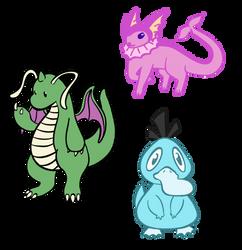 Shiny Pokemon Doodles