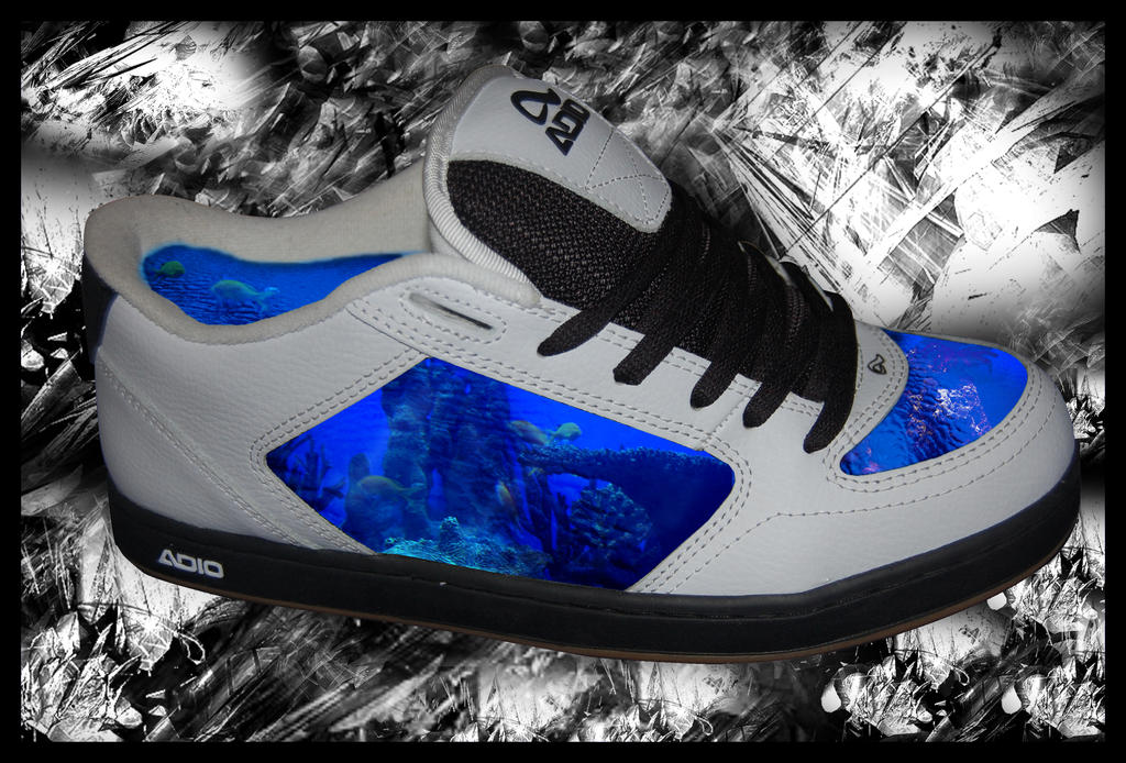 Shoe fish tank by andreicd on deviantart for Fish tank shoes