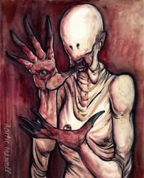 The Pale Man by Serrifth