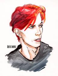 David Bowie by Serrifth
