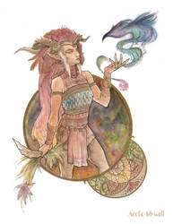 Rodendra the Forest Dweller by Serrifth