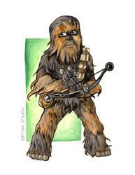 Chewbacca by Serrifth