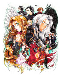 Final fantasy VII by Nadou