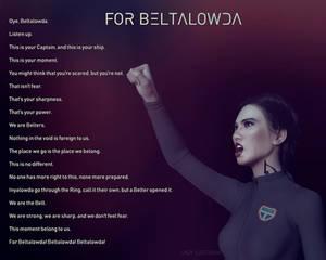 The Expanse - For Beltalowda