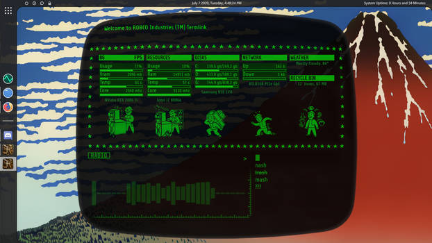 Fallout Terminal Rainmeter Final