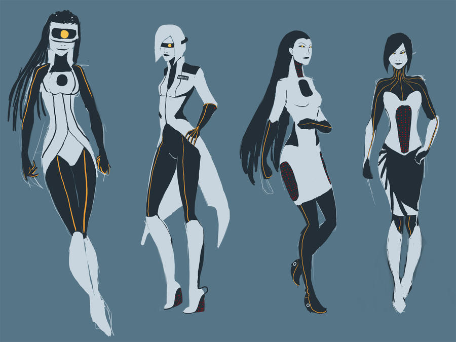 GLaDOS Fashion Week by BabyBarracuda