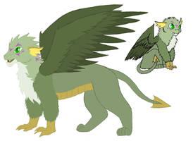 MLP - NextGen - Feathery Dragon by Rumpeltyltskyn