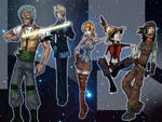 Strawhats IN SPACE