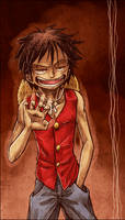 Pervert Luffy by SybLaTortue